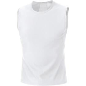 GORE WEAR M Base Layer Sleevless Shirt Herren white
